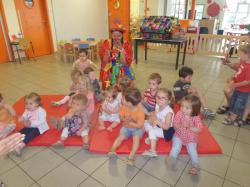 Clown MOANA et tous les enfants